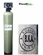 WHOLE HOUSE FLUORIDE/HEAVY METAL FILTER SYSTEM 1.5 CF BONE CHAR CARBON
