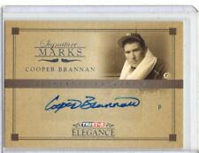 2007 TRISTAR Elegance Signature Marks #CB Cooper Brannan AUTO War Hero