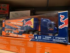 PETERBILT RACING TRUCK RED BULL DIE CAST 1/32 BY NEWRAY