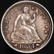 1854 | U.S.A. Seated Liberty Half Dime | Silver | Coins | KM Coins