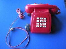 Red 1980s Collectable Telephones