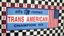 Alfa Romeo Trans America 1970 Sticker