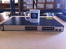 CISCO WS-C3750-24PS-E Ethernet Catalyst PoE Switch 24 Port 3750 w/ Racks