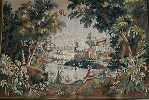 French 20th Century Verdure Tapestry