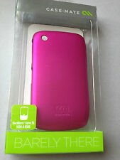 CASE-MATE BARELY THERE BACK CASE COVER FOR BLACKBERRY CURVE 8520 9300 - CM014745