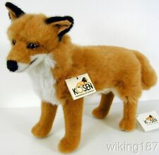 KOSEN Of Germany #3790 NEW Standing Red & White FOX PLUSH TOY