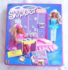 Vintage BARBIE (1988): SKIPPER SLEEP N´STUDY STUDIO. MINT! VHTF, BRAND NEW OS!
