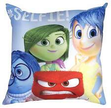 NEW SUPER SOFT DISNEY PIXAR MOVIE INSIDE OUT CUSHION - KIDS BOYS GIRLS PILLOW