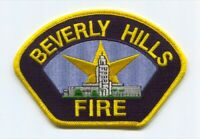 Beverly Hills Fire Department Patch California CA