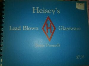 Vintage collectors guide Heisey's Lead Glass book RARE