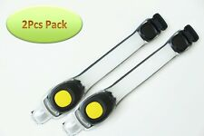 2Pcs Yellow Safety Light LED Armband Gear Reflective Strap Night Running Jogging