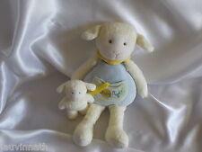 Doudou mouton et son bébé, Baby Nat, (Babynat)