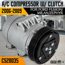 Up AC Compressor For Ford Fusion Mercury Milan 06-12 2.3 2.5L 3.0L 68670 Seat