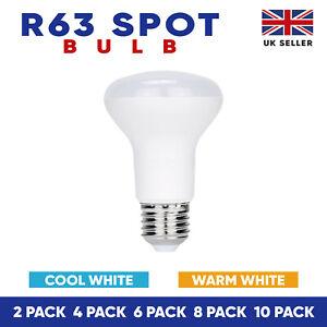 R63 LED Bulb Reflector / Reflecter Light Bulbs Warm White/Cool Light ES,