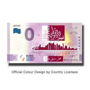 2021-1 Qatar QAAC Qatar Colour Euro Souvenir Banknote Euro Schein