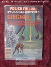 Fantastic Stories April 1978 DAVID DRAKE CHARLES SHEFFIELD ARSEN DARNAY