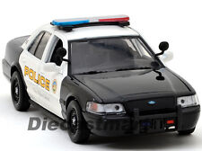 MOTORMAX 1:24 2010 FORD CROWN VICTORIA INTERCEPTOR SAN GABRIEL POLICE DIECAST