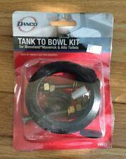 Danco 88913 Toilet Tank-to-Bowl Kit Brass/Rubber/Steel White