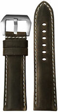 24x22 XL RIOS1931 for Panatime Slate Distressed Leather Watch Strap for Panerai
