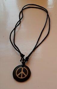 Peace Logo Pendant Necklace