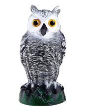 Ultimate Scarecrow Owl Decoy Statue Fake Owl Outdoor Pest & Bird Deterrent