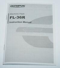 Olympus Blitzgerät FL-36R Instruction Manual