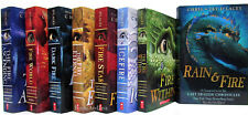 Last Dragon Chronicles 1-7 & Fire and Rain +by Chris d'Lacey (8 Mixed Book Set)