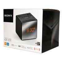 SONY ICF-C1T ICFC 1 T  Clock Radio  BLACK  Good Condition New In Open Box