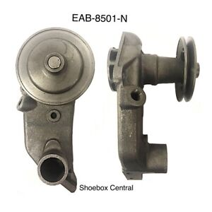New 1950 1951 1952 1953 Shoebox Ford Car V8 Water Pump RH Narrow Pulley