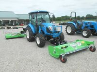 "72"" Peruzzo Scorpion Front Mounted Flail Mower & Front Hitch: LS 'XR' Tractors"