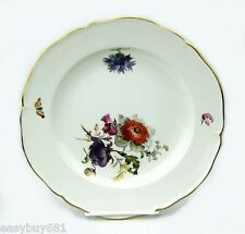 KPM GERMANY 19TH CENTURY CABINET FLOWER PLATE MUSEUM QUALITY NO CHIPS # 1