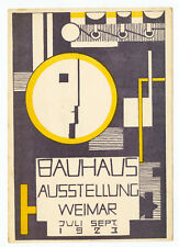 Framed Print - Weimar Bauhaus German Art Exhibition Ausstellung Poster c. 1923