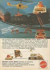 X7522 Elicottero S.O.S. Mattel - Pubblicità 1977 - Vintage Advertising
