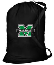 Marshall Laundry Bag MARSHALL University Dirty CLOTHES BAG -With SHOULDER STRAP!