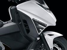 2 ADESIVI in RESINA 3D PROTEZIONE FIANCHI compatibili per moto HONDA INTEGRA 750