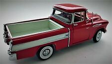 Vintage Chevy 1 Pickup Truck 1940s Chevrolet Built 24 Car 25 Model 12 Red White