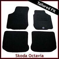 Skoda Octavia Hatchback Mk1 1996-2004 Tailored Carpet Car Floor Mats BLACK