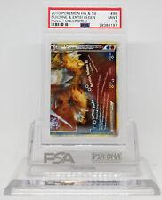 Pokemon UNLEASHED SUICUNE & ENTEI 95/95 BOTTOM LEGEND HOLO PSA 9 MINT #28386191