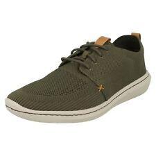 Hombre Clarks Cloudsteppers Step Urban Mix Zapatos Casual con Cordones Ajuste G