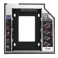Universal 2.5 2nd 9.5mm Ssd Hd SATA SDD Hard Disk Drive HDD Caddy Adapter Bay F