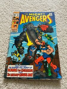 Avengers  69  Fine-  5.5  Iron Man  Captain America  Thor  Vision  Black Panther