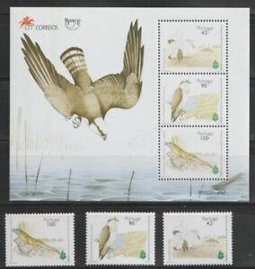 PORTUGAL BIRDS (2039-41a) NH. SCV 9.00