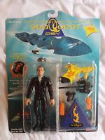 Sea Quest DSV💥CAPTAIN NATHAN HALE BRIDGER💥Action Figure Playmates💥Vintage '93