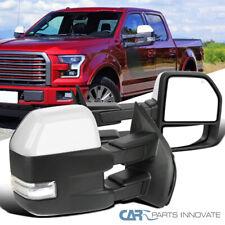 15-19 Ford F150 Prata Power aquecida Tow Sinal De Espelhos + Led + Par de Lâmpadas Puddle
