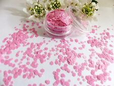 Arte en uñas Grueso * Zapatos De Ballet * Brillante Rosa hexagonal forma Brillo Spangle Mezclar Olla