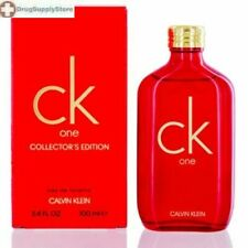 CS CK ONE/CALVIN KLEIN EDT POUR/SPRAY COLLECTOR'S EDITION 3.4 OZ (100 ML) (W) NE