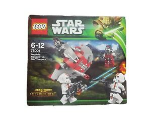 LEGO STAR WARS #75001 Republic Troopers V Sith Troopers unopened box