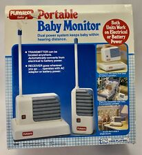 Vintage 1990 Playskool Baby Portable Baby Monitor in Box As Seen In Toy Story