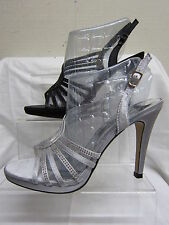 Stiletto Strappy Evening Textile Shoes for Women