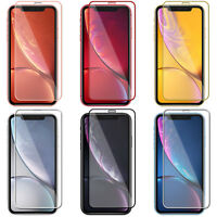 For iPhone 11 Pro Max/XI/XS//XR/X Full Cover Tempered Glass Screen Protector 9H